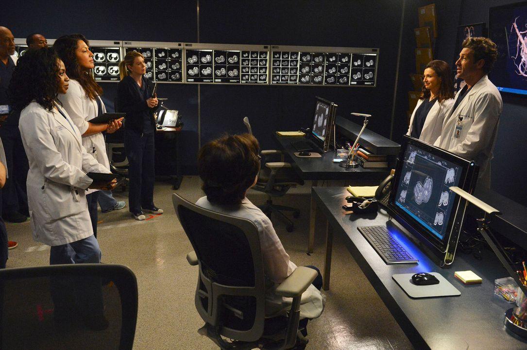 Alle Ärzte des Grey Sloan Memorial Hospital müssen zusammenarbeiten, um Zwillingsschwestern zu trennen, die am Kopf zusammengewachsen sind und sich... - Bildquelle: ABC Studios