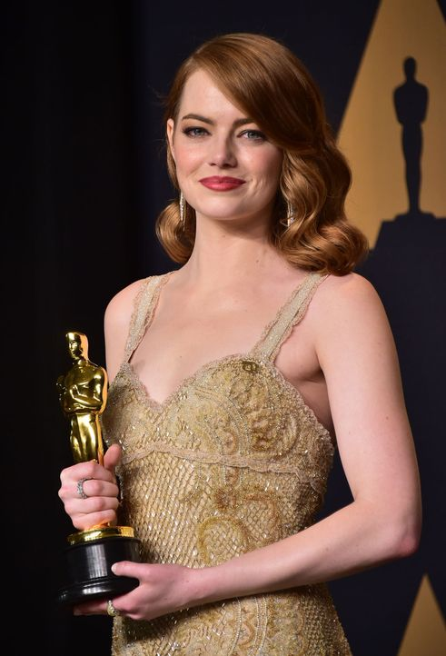 Emma-Stone-AFP - Bildquelle: AFP PHOTO / FREDERIC J. BROWN