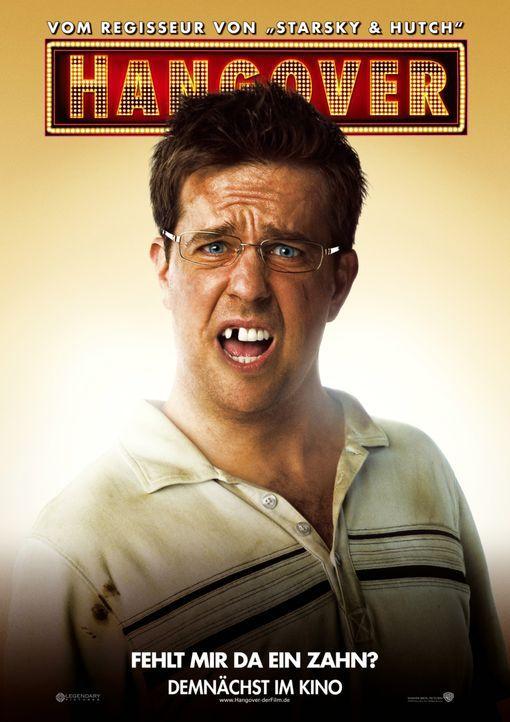 Wo ist mein Zahn? Stu (Ed Helms) ... - Bildquelle: Warner Brothers