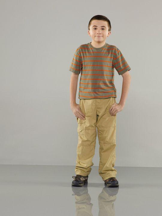 (4. Staffel) - Er ist intelligent und gebildet, hat aber Probleme sich mit anderen Kindern anzufreunden: Brick (Atticus Shaffer) ... - Bildquelle: Warner Brothers