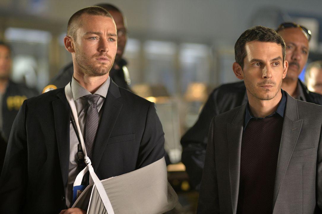 Werden Ryan (Jake McLaughlin, l.) und Simon (Tate Ellington, r.) Alex wirklich helfen, den wahren Täter zu fassen und ihre Unschuld zu beweisen? - Bildquelle: 2015 ABC Studios