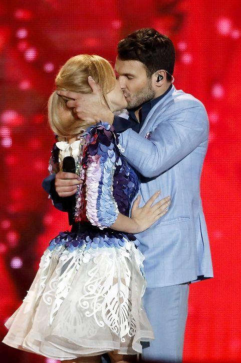 European-Song-Contest-ESC-Monika-Linkyte-Vaidas-Baumila-150523-AFP - Bildquelle: AFP