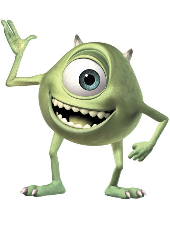 Immer einen lockeren Spruch auf den Lippen: Der kleine, einäugige, grüne Mike Wazowski ist ein Charmeur wie er im Buche steht ... - Bildquelle: Buena Vista Pictures
