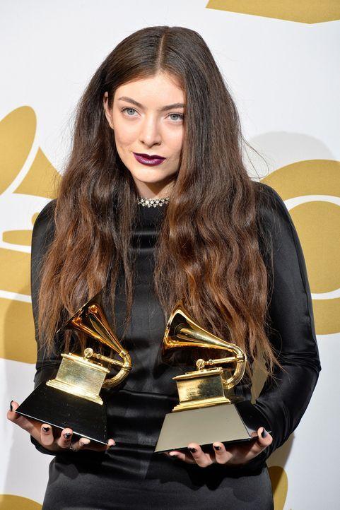 Grammy-Awards-Lorde-14-01-26-getty-AFP - Bildquelle: getty-AFP