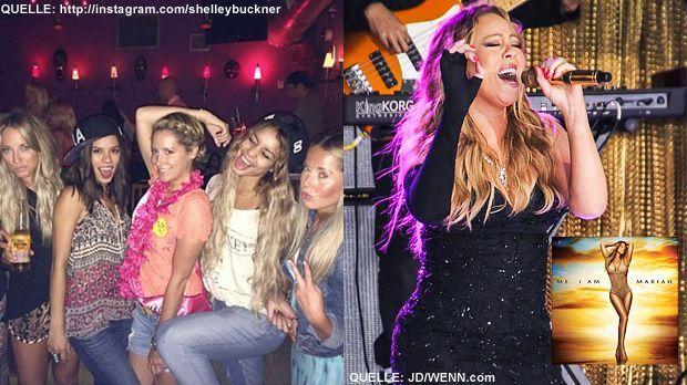 TOP Vanessa Hudgens FLOP Mariah Carey - Bildquelle: http://instagram.com/shelleybuckner  / JD-WENN.com / Cover: Universal