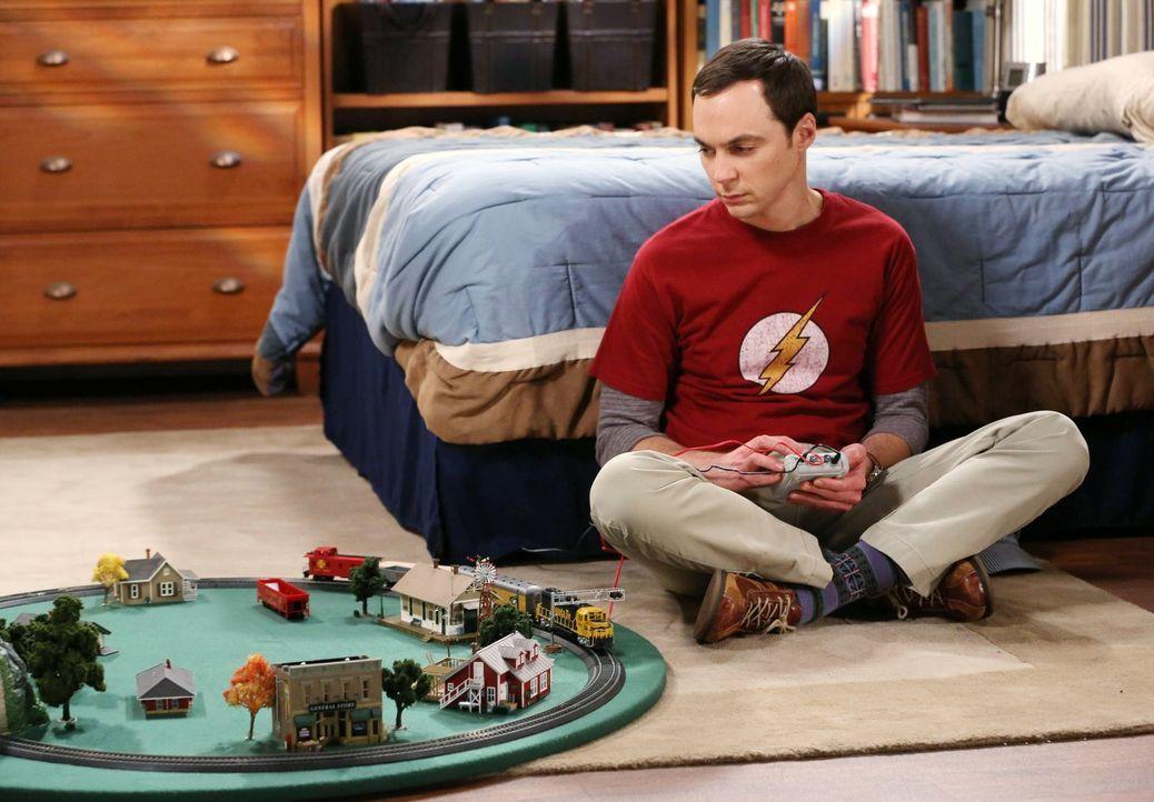 Leonard und Amy müssen Sheldon (Jim Parsons) über die Schmach hinwegtrösten, dass herausgefunden wurde, dass seine wissenschaftliche Entdeckung nur... - Bildquelle: Warner Brothers