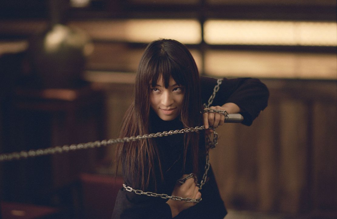 Sie ist erst süße 17 Jahre alt, dafür aber in ihrer Kaltblütigkeit kaum zu übertreffen: Gogo Yubari (Chiaki Kuriyama) ... - Bildquelle: Miramax Films/Dimension Films. All Rights Reserved.