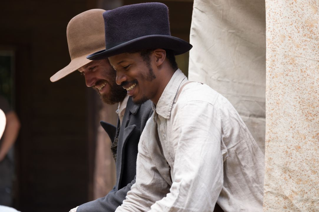 Samuel Turner (Armie Hammer, l.); Nat Turner (Nate Parker, r.) - Bildquelle: Jahi Chikwendiu 2016 Twentieth Century Fox Film Corporation.  All rights reserved. / Jahi Chikwendiu