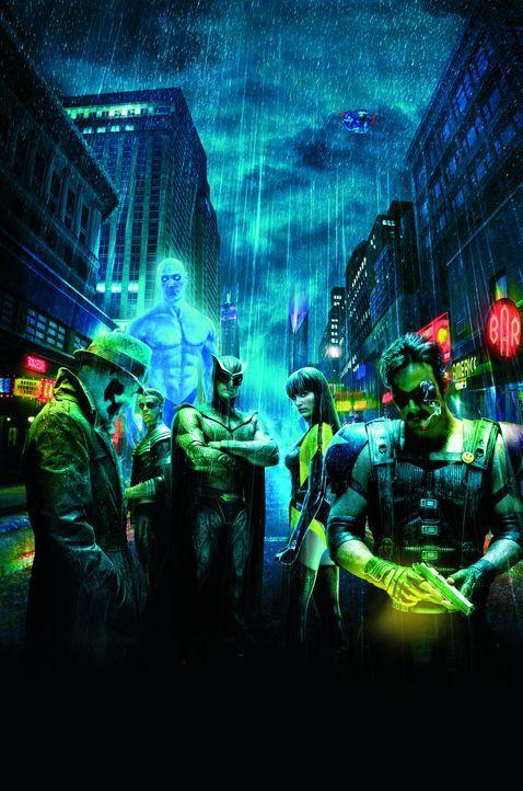 WATCHMEN-DIE WÄCHTER - Artwork - Bildquelle: Paramount Pictures