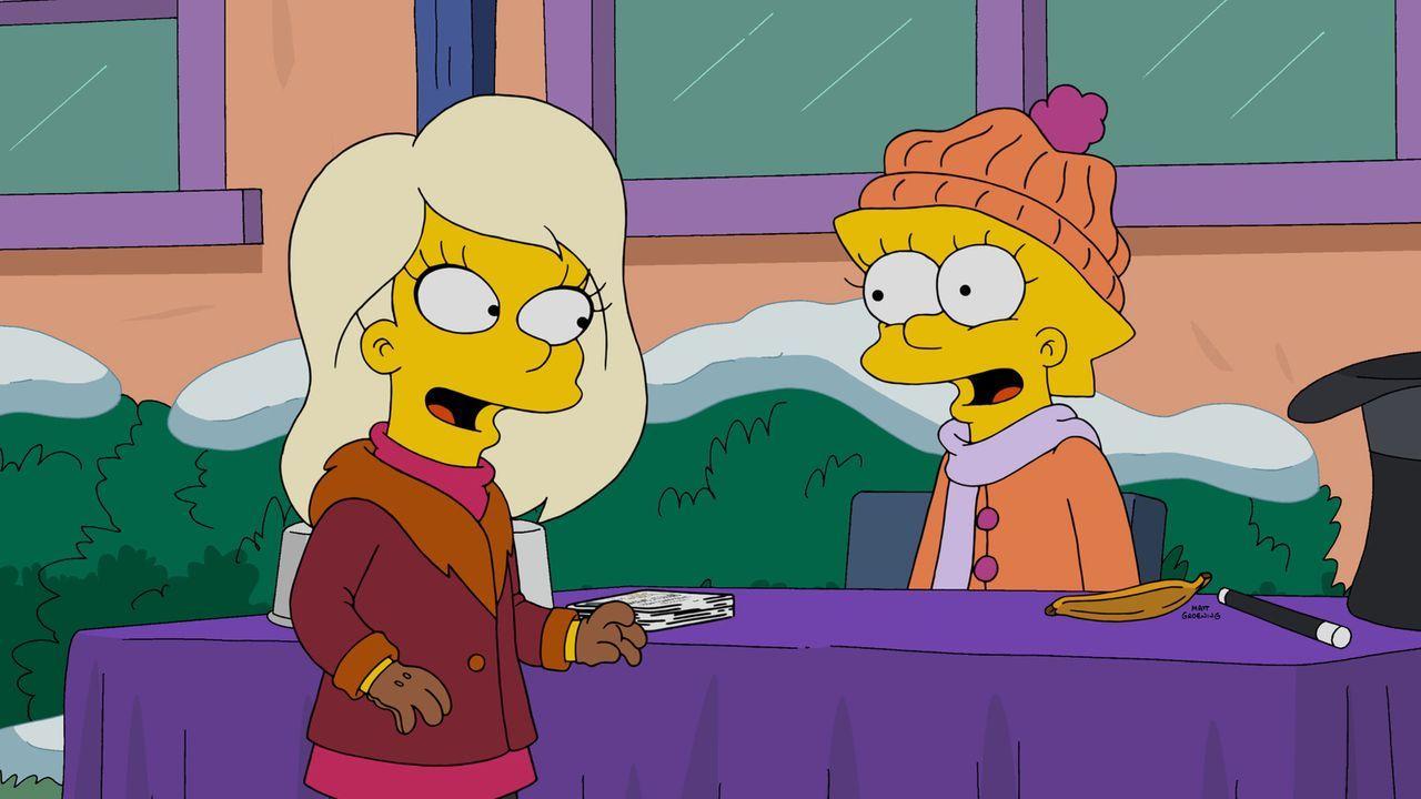In der Schule lernt Lisa (r.) Harper (l.) kennen. Doch steht den beiden eine langjährige Freundschaft bevor? - Bildquelle: 2015 Fox and its related entities.  All rights reserved.