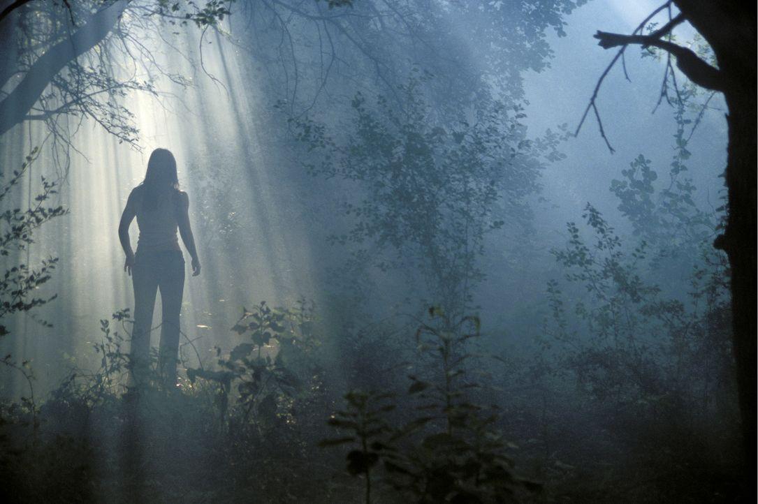 Noch hofft Erin (Jessica Biel), dem grauenvollen Mörder mit der Kettensäge entkommen zu können ... - Bildquelle: Constantin Film