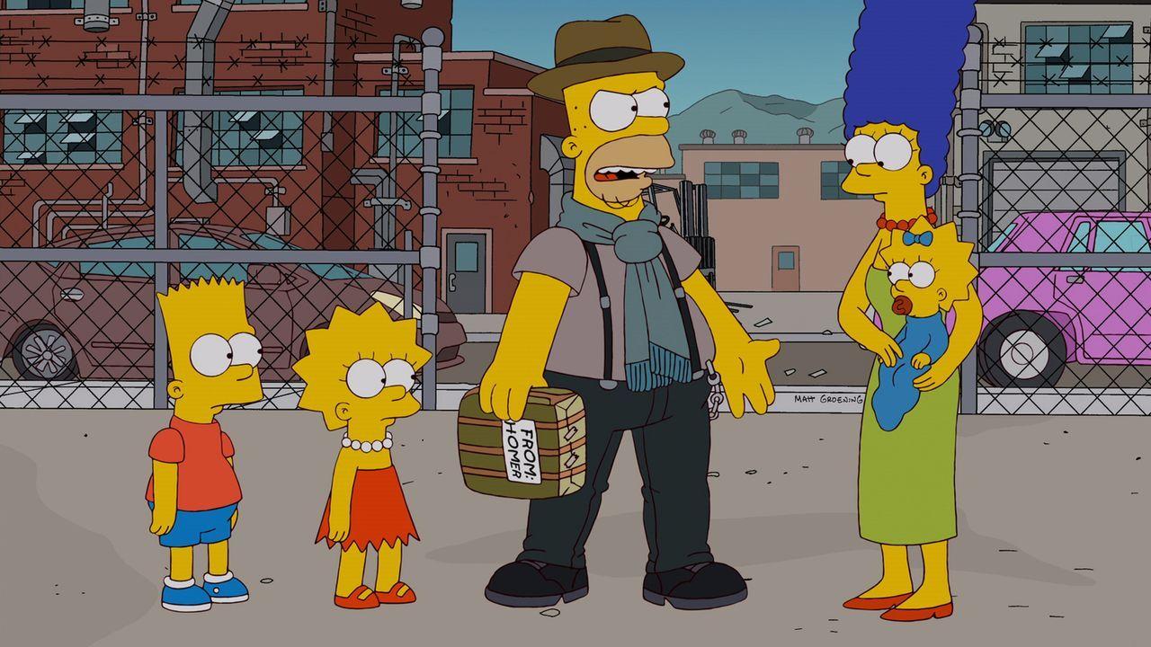 Homer (M.) hat damit zu kämpfen, dass er sich selbst für zu alt und zu uncool hält. Als er dann Terence, einen fahrenden Donut-Händler kennenlernt,... - Bildquelle: und TM Twentieth Century Fox Film Corporation - Alle Rechte vorbehalten