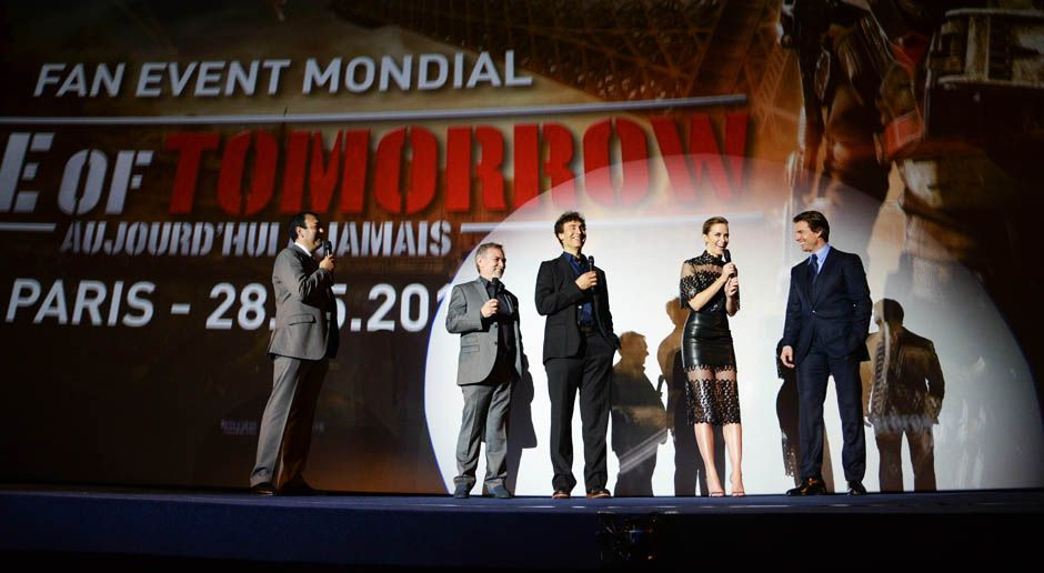 premiere-edge-of-tomorrow-paris-14-05-30-14-Warner-Bros-Pictures - Bildquelle: Warner Bros. Pictures