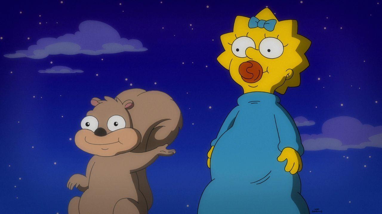 Maggie (r.) findet einen neuen Freund, während Selma und Patty in Streit geraten ... - Bildquelle: 2015 Fox and its related entities.  All rights reserved.