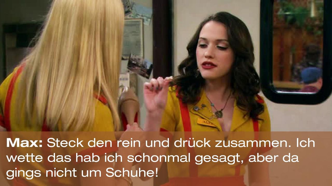 2-broke-girls-zitat-quote-staffel2-episode5-darius-lachexpress-max-reinstecken-warnerpng 1600 x 900 - Bildquelle: Warner Brothers Entertainment Inc.