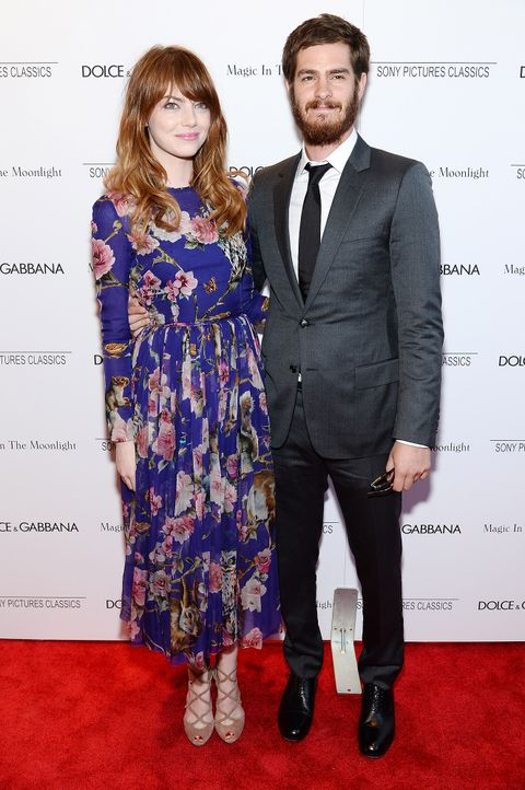 Emma-Stone-Andrew-Garfield-140717-getty-AFP - Bildquelle: getty-AFP