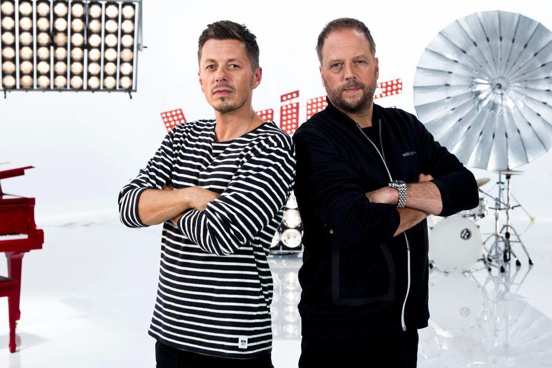 Wie werden sich die Talente von Michi Beck (l.) und Smudo (r.) in den Liveshows schlagen? - Bildquelle: Richard Hübner SAT.1/ProSieben