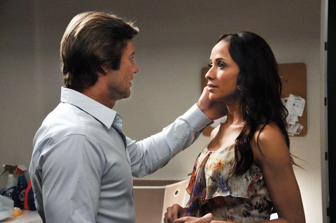 Nach einer Aussprache mit Valentina kann Zoila sich dazu durchringen, Valentina in Liebesangelegenheiten ihre eigenen Wege gehen zu lassen. Währendd... - Bildquelle: ABC Studios