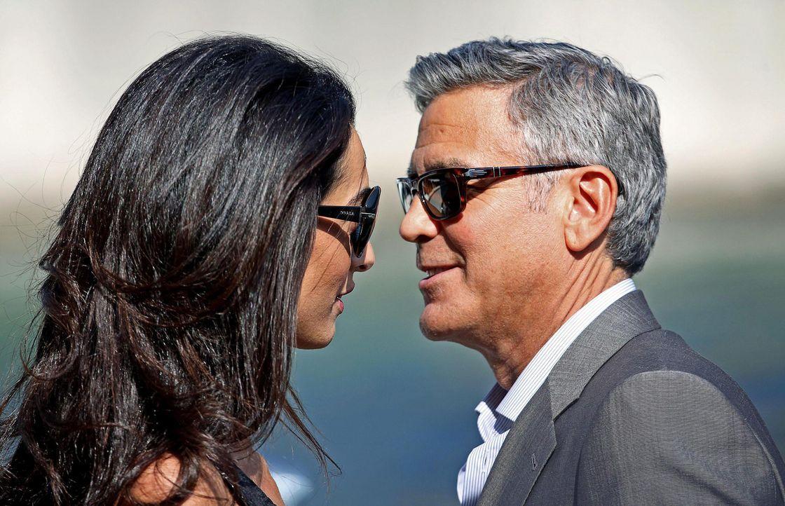 George-Clooney-Amal-Alamuddin-140926-dpa - Bildquelle: dpa