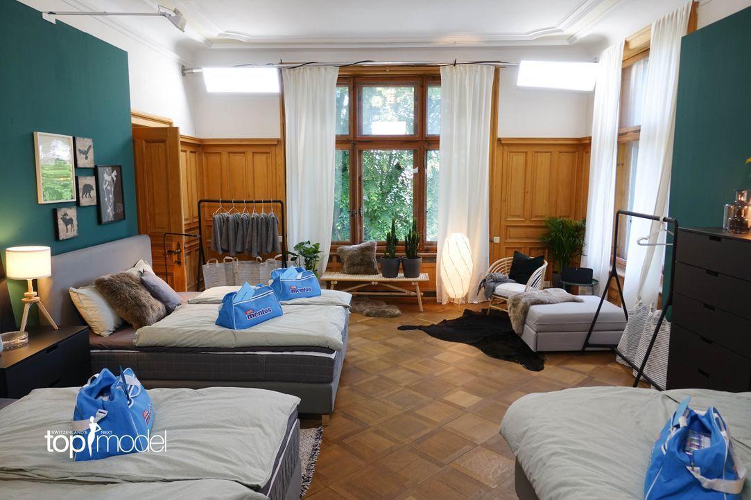SNTM2019_Modelvilla (2) - Bildquelle: proSieben Schweiz/ Siegfried Boyé