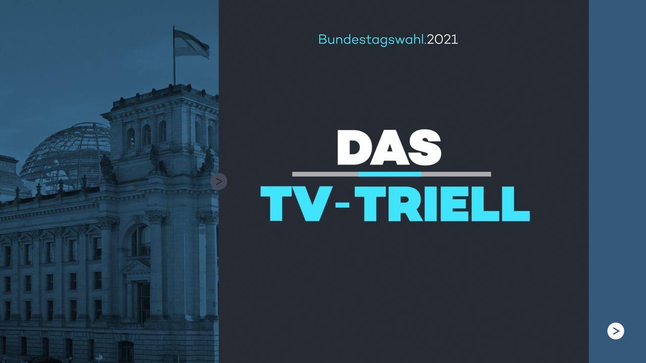 Das TV-Triell - Logo - Bildquelle: ProSieben / SAT.1 / Kabel Eins