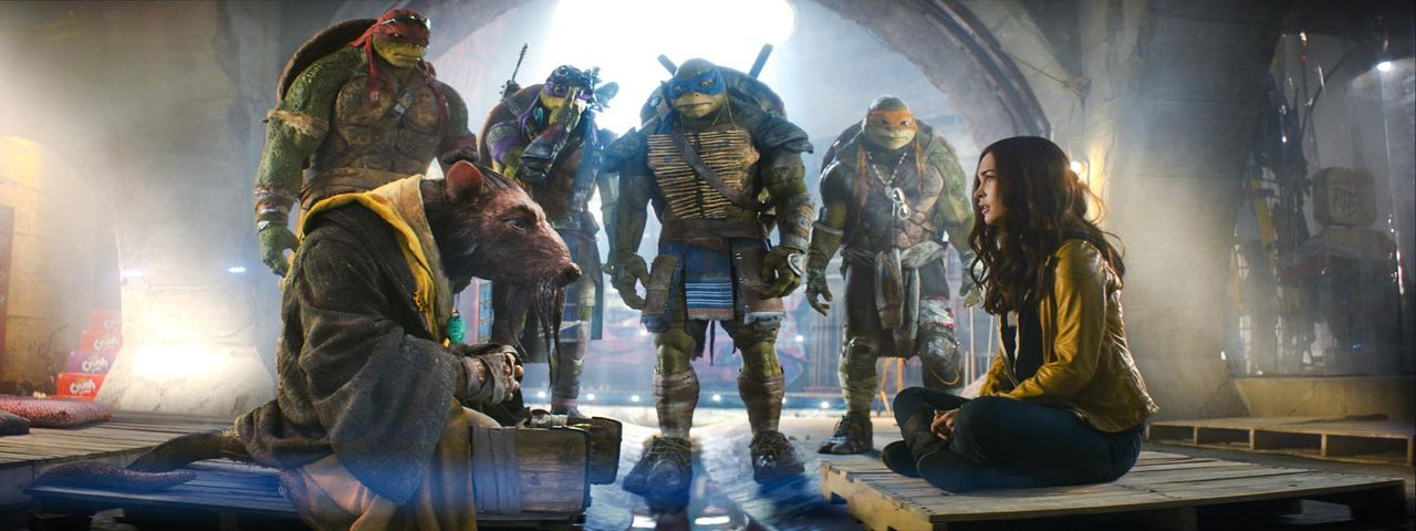 teenage-mutant-ninja-turtles-31-Paramount-Pictures - Bildquelle: Paramount Pictures Corporation