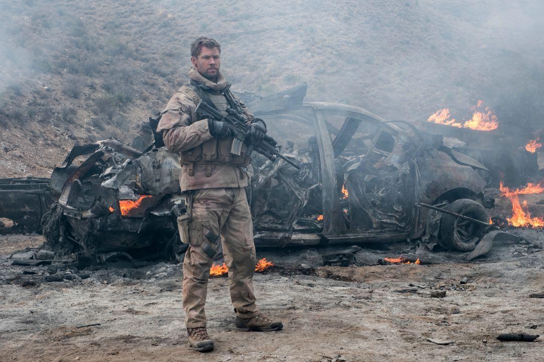Captain Mitch Nelson (Chris Hemsworth) - Bildquelle: 2017 Concorde Filmverleih GmbH