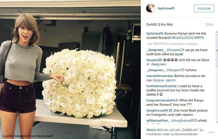 Beliebteste-Instagram-Bilder-2015-taylorswift-3 - Bildquelle: instagram.com/taylorswift