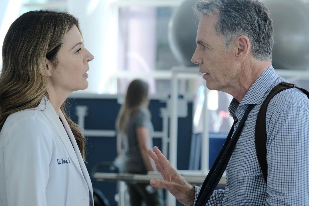 Dr. Kit Voss (Jane Leeves, l.); Dr. Randolph Bell (Bruce Greenwood, r.) - Bildquelle: Guy D'Alema 2019-2020 Twentieth Century Fox Film Corporation.  All rights reserved. / Guy D'Alema