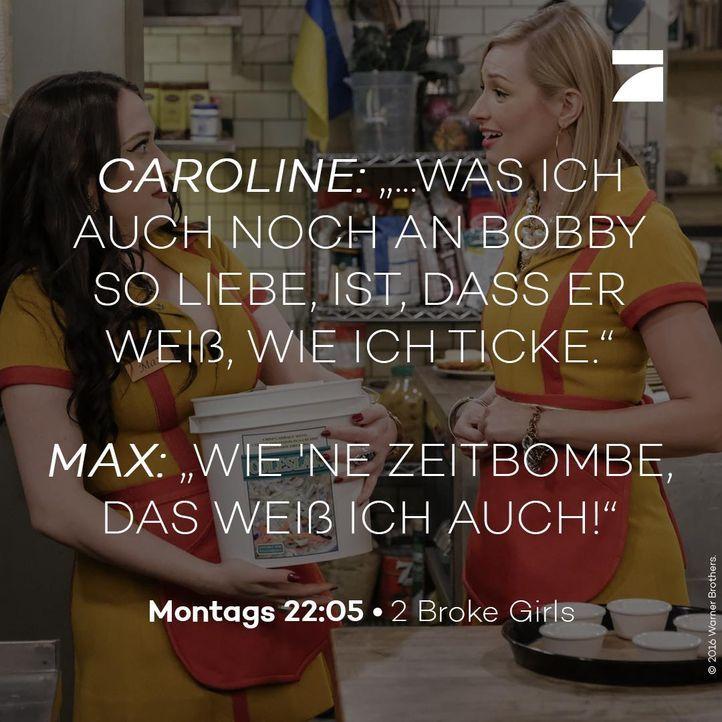 Max und Caroline Staffel 6 Episode 16 - Bildquelle: Warner Bros. Television