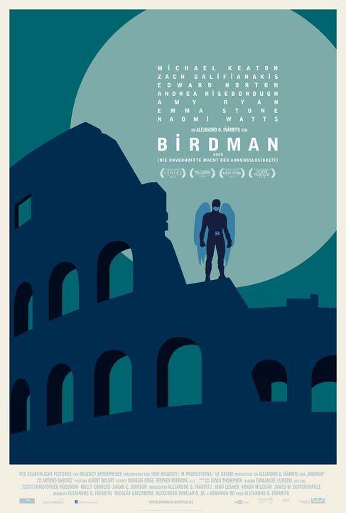 Birdman-Plakat-Rom-20th-Century-Fox - Bildquelle: TWENTIETH CENTURY FOX