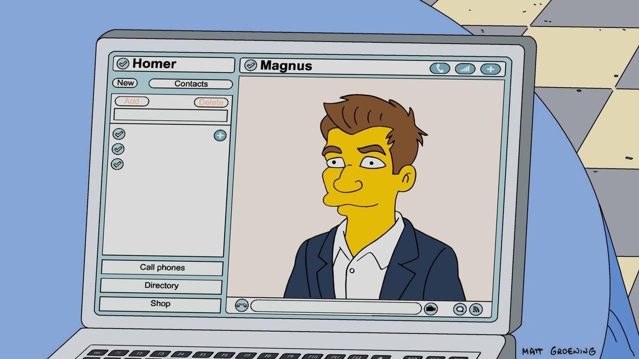 Schachmeister Magnus (Foto) soll Homer aus seiner Lebenskrise heraushelfen ... - Bildquelle: 2016-2017 Fox and its related entities. All rights reserved.
