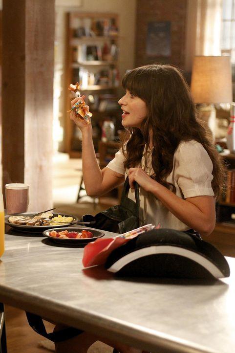 Durch Jess (Zooey Deschanel) verläuft das Date von Nick und seiner heißen Kollegin Amanda völlig anders als geplant ... - Bildquelle: 20th Century Fox