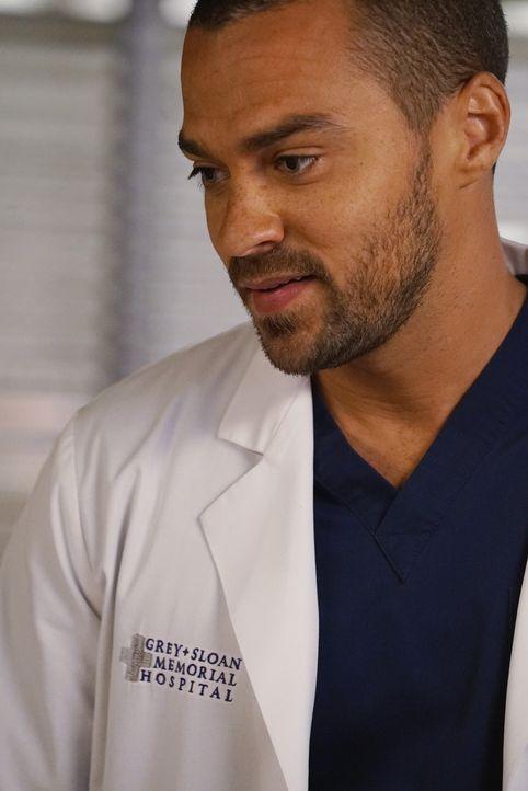 Hat die Liebe zu April noch eine Chance? Jackson (Jesse Williams) ... - Bildquelle: Eric McCandless ABC Studios