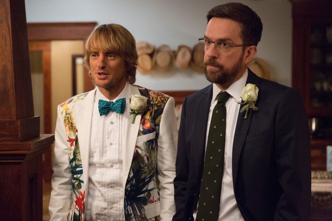 Kyle Reynolds (Owen Wilson, l.); Peter Reynolds (Ed Helms, r.) - Bildquelle: 2017 Warner Bros. Ent. © Alcon Entertainment, LLC. All Rights Reserved.