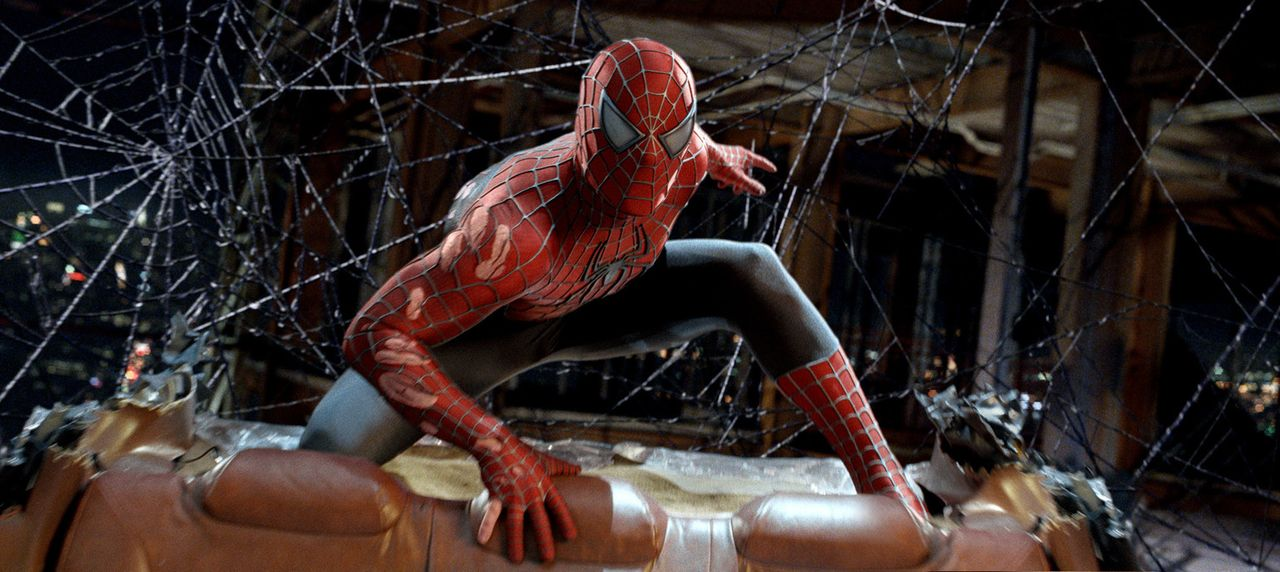 Langsam aber sicher steigt Spider-Man, im wahren Leben Peter Parker (Tobey Maguire), die große Beliebtheit bei der Bevölkerung zu Kopf. Er vergiss... - Bildquelle: 2007 Marvel Characters, Inc.  2007 CPII. All Rights Reserved.