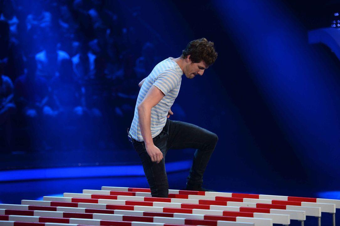 Wie schlägt sich Comedian Luke Mockridge in den Spielen? - Bildquelle: Willi Weber ProSieben