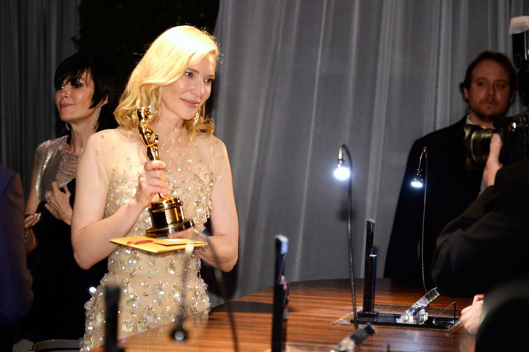 Oscars-Governors-Ball-Cate-Blanchett-140302-1-getty-AFP - Bildquelle: getty-AFP