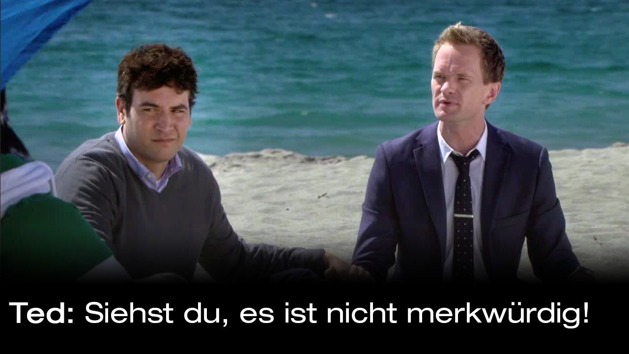 How-I-Met-Your-Mother-Zitate-Staffel-9-20-Ted-merkwuerdig - Bildquelle: 20th Century Fox Film Corporation all rights reserved.