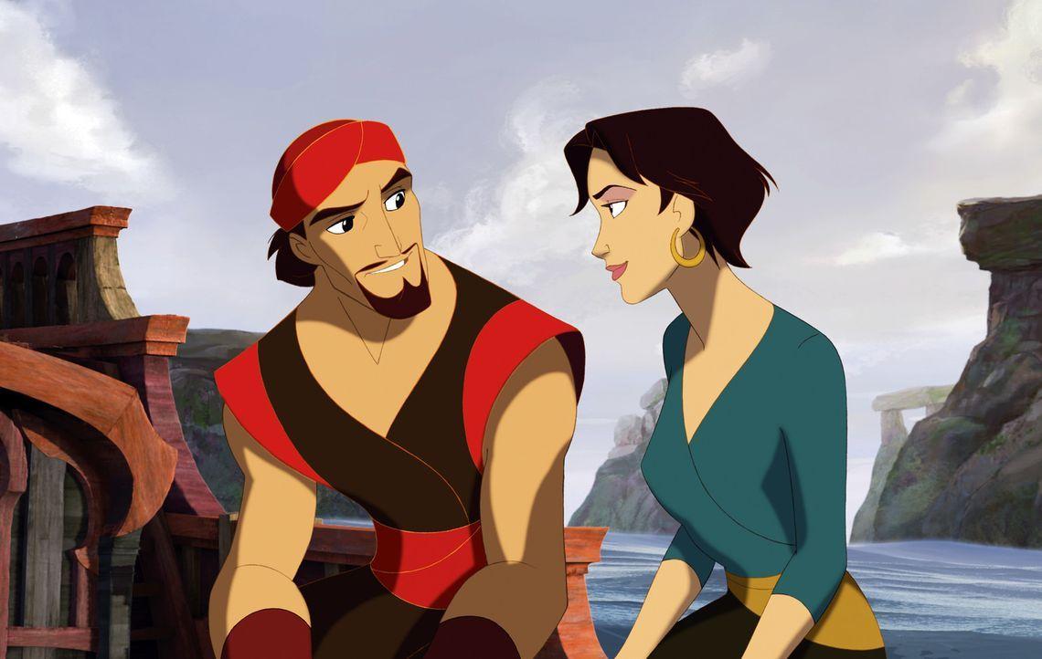 Sinbad ist verzweifelt: Seine Mannschaft entscheidet sich dafür, künftig die Befehle von Marina entgegenzunehmen. Werden sie so das Leben von Prot... - Bildquelle: DreamWorks SKG