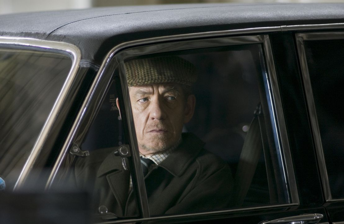 Wird Opfer seiner eigenen Lügen: Sir Leigh Teabing (Ian McKellen) ... - Bildquelle: Sony Pictures Television International. All Rights Reserved.