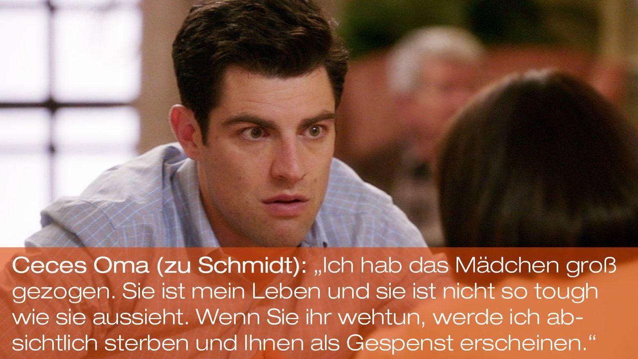 New Girl - Zitate - Staffel 1 Folge 23: 06 - Schmidt (Max Greenfield) - Bildquelle: 20th Century Fox