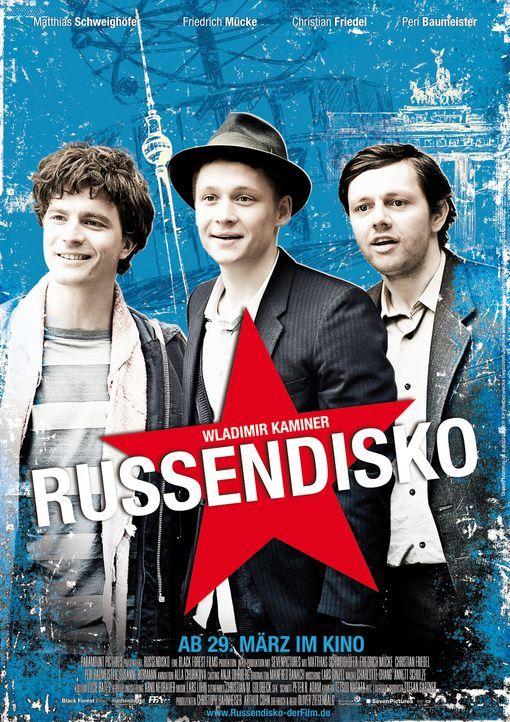 """""""Russendisko"""" - Plakatmotiv - Bildquelle: Black Forest Films GmbH"""