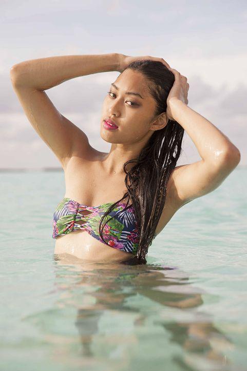 GNTM-Stf10-Epi13-Bikini-Shooting-Malediven-135-Anuthida-ProSieben-Boris-Breuer - Bildquelle: ProSieben/Boris Breuer