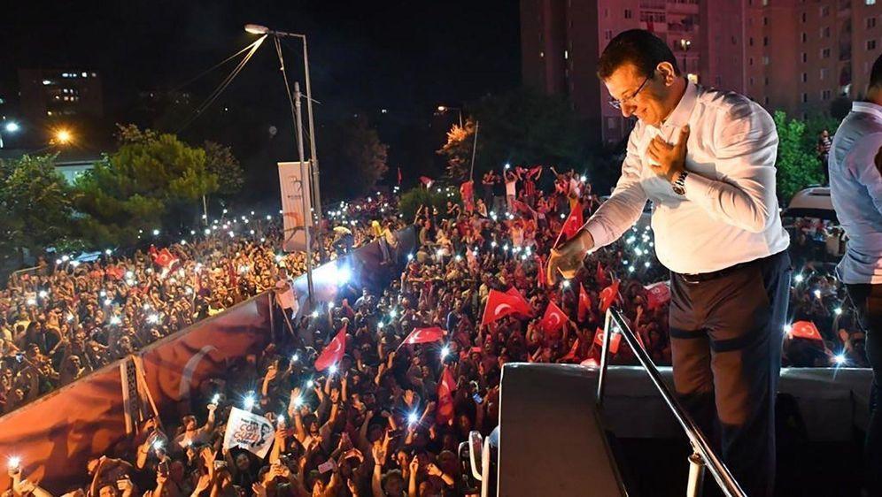 - Bildquelle: EKREM IMAMOGLU COMMUNICATION OFFICE / HANDOUT / Anadolu Agency