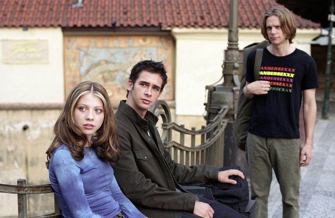 Sind auf einem aufregenden Eurotrip: (v.l.n.r.) Jenny (Michelle Trachtenberg), Scott (Scott Mechlowicz) und Cooper (Jacob Pitts) ... - Bildquelle: DreamWorks Distribution LLC