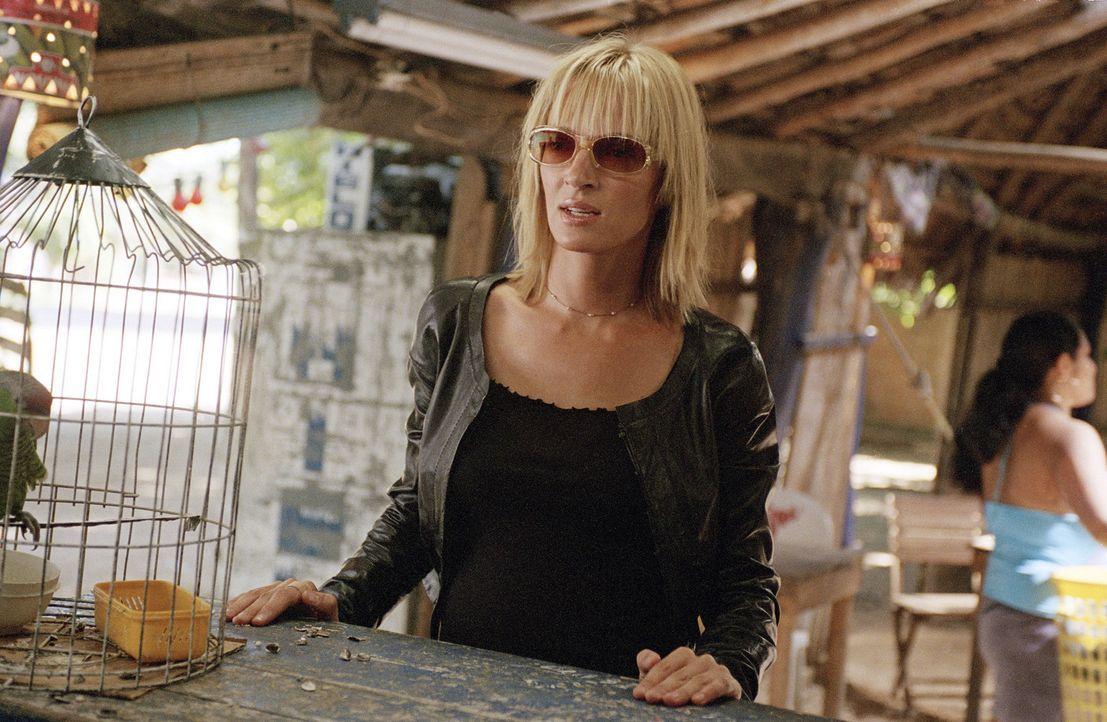 Die Rache der Braut (Uma Thurman) ist noch nicht vorbei. Noch muss sie Elle Driver und Budd umbringen, um sich dann Bill vornehmen zu können. Ein g... - Bildquelle: Miramax Films. All rights reserved