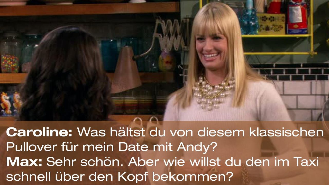 2-broke-girls-zitat-quote-staffel2-episode7-candy-andy-dandy-max-taxi-warnerpng 1600 x 900 - Bildquelle: Warner Brothers Entertainment Inc.