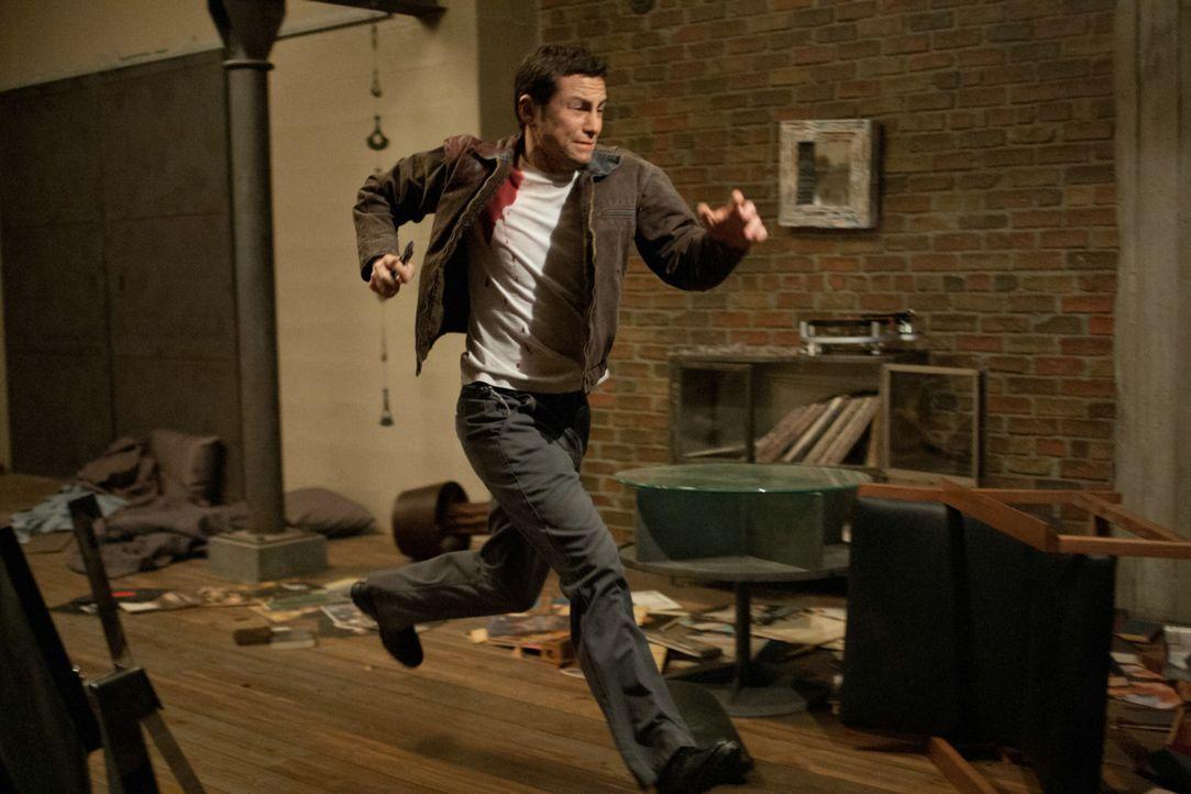 Auf der Flucht vor seinen mörderischen Häschern: der junge Joe (Joseph Gordon-Levitt) ... - Bildquelle: 2012 Concorde Filmverleih GmbH