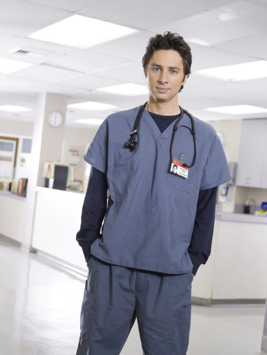 (6. Staffel) - Neue Herausforderungen warten auf den engagierten Arzt John Dorian (Zach Braff) ... - Bildquelle: Touchstone Television